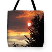 Smoky Sun Tote Bag