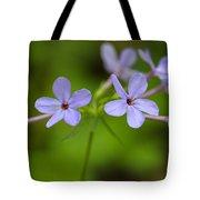 Smoky Wildflowers Tote Bag