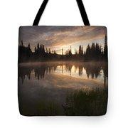 Smoldering Dawn Tote Bag