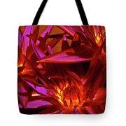 Smoldering Lilies Tote Bag