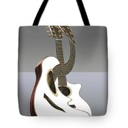 Smooth Guitar Tote Bag