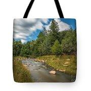 Smooth Mountain Stream Tote Bag