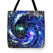 Smooth Operator Swing Blue Tote Bag