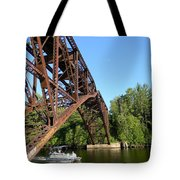 Smooth Ride Under The Arch Tote Bag
