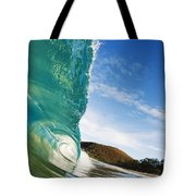 Smooth Wave - Makena Tote Bag