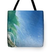 Smooth Wave Tube Tote Bag