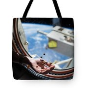 Snacking In Space Tote Bag
