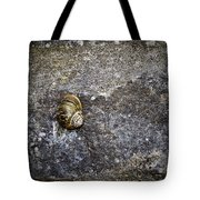 Snail At Ballybeg Priory County Cork Ireland Tote Bag