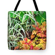 Snail In A Rich Composition Tote Bag