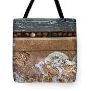 Snails At Home With Lichen Tote Bag