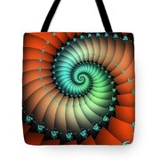 Snails On The Way Tote Bag