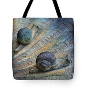 Snail's Pace Tote Bag