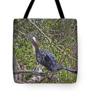 Snake Bird Tote Bag