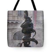 Snake Fountain Tote Bag