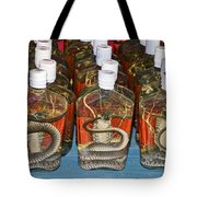 Snake In A Bottle Tote Bag