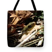 Snake In Nature Tote Bag