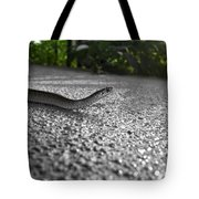Snake In The Sun Tote Bag