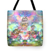 Snake Moon Tote Bag