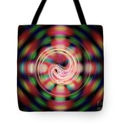 Snake Pit Abstract Tote Bag