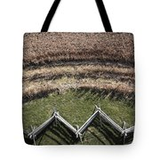 Snake-rail Fence And Cornfield Tote Bag