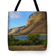 Snake River Canyon Tote Bag
