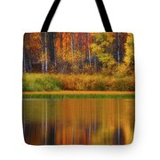 Snake River Fall Colors Tote Bag