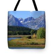 Snake River, Grand Tetons National Park Tote Bag