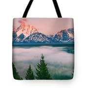 Snake River Overlook - Grand Teton National Park Tote Bag