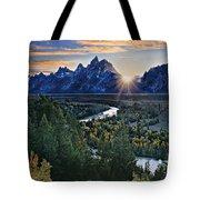 Snake River Overlook Tote Bag