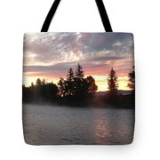 Snake River Sunrise Tote Bag