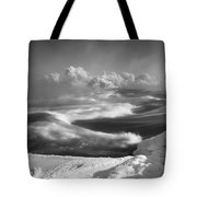 Snake River Winter Tote Bag