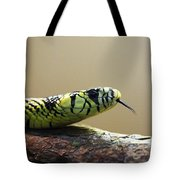 Snake Tongue Tote Bag