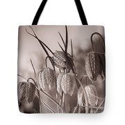Snake's Head Fritillary  Tote Bag