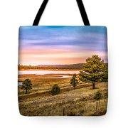 Snaking  River Tote Bag