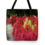 Snap Dragon Flowers Tote Bag by Tracy Hall