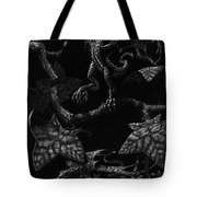 Snap Dragons Tote Bag