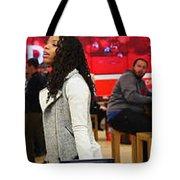#snapchat Influencers Tote Bag