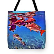 Snapper Feed Tote Bag
