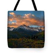 Sneffels Autumn Sunrise Tote Bag
