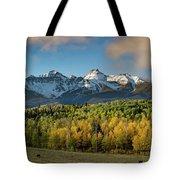 Sneffls Range Panorama From County Road 5  Tote Bag