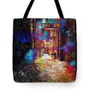 Snickelway Of Light Tote Bag