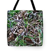 Snipe In Camouflage 2 Tote Bag
