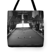 Snooker Room Tote Bag