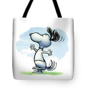 Snoopy T-shirt Tote Bag