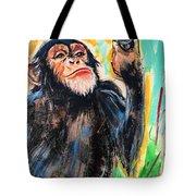Snooty Monkey Tote Bag