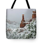 Snow 06-027 Tote Bag