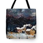 Snow 57 Tote Bag