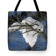 Snow And Africa Tote Bag