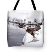 Snow Ballet Tote Bag
