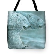 Snow Blind Tote Bag